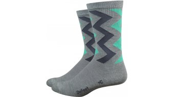 DeFeet Wooleator Comp 15cm socks Ziggy grey