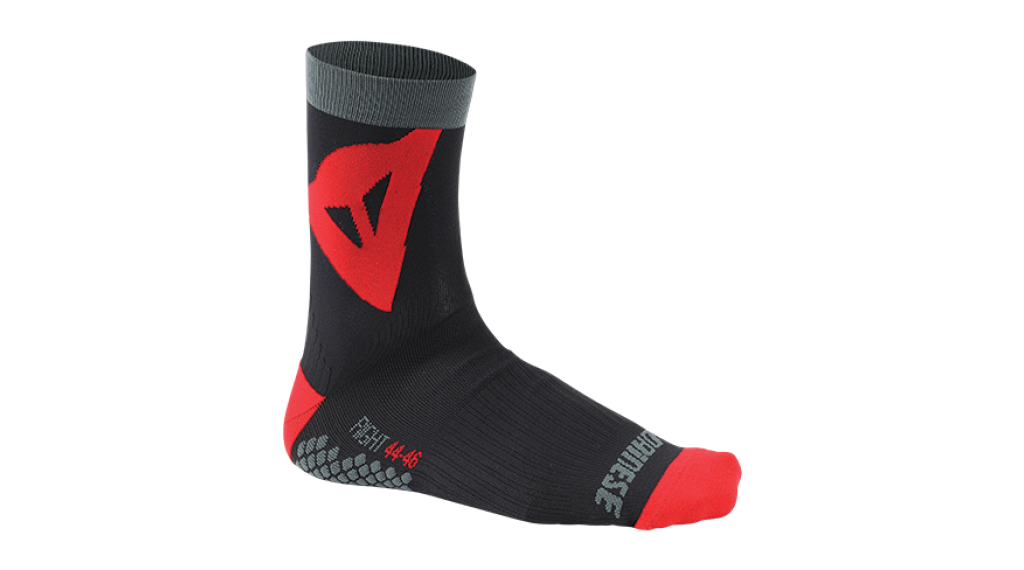 Dainese Riding Mid socks size M black/red 2019