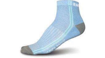 Endura CoolMax calcetines (de 3 unidades) Caballeros-calcetines tamaño unisize sky azul & blanco mix