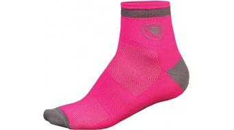 Endura Luminite socks (2 Pack) ladies unisize neon-pink
