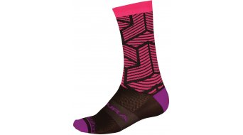 Endura Triweave Graphic Socken Damen-Socken Gr. unisize kirschrot - Limited Edition