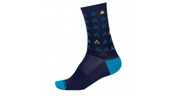 Endura Triangulate Graphics socks men marine blue