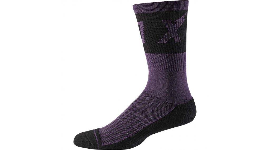 L//XL Fox 8 Trail Cushion Socks Nero Calzini