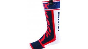 Fox MX Divizion calcetines niños-calcetines Youth tamaño und-S rojo