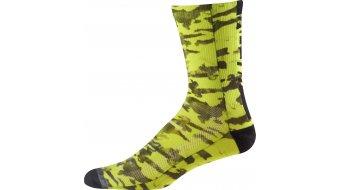 FOX Creo Trail ponožky pánské 20cm velikost S/M flo yellow