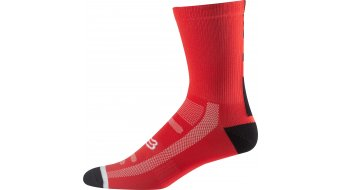 Fox Logo Trail Socken Herren 20cm Gr. S/M flame red