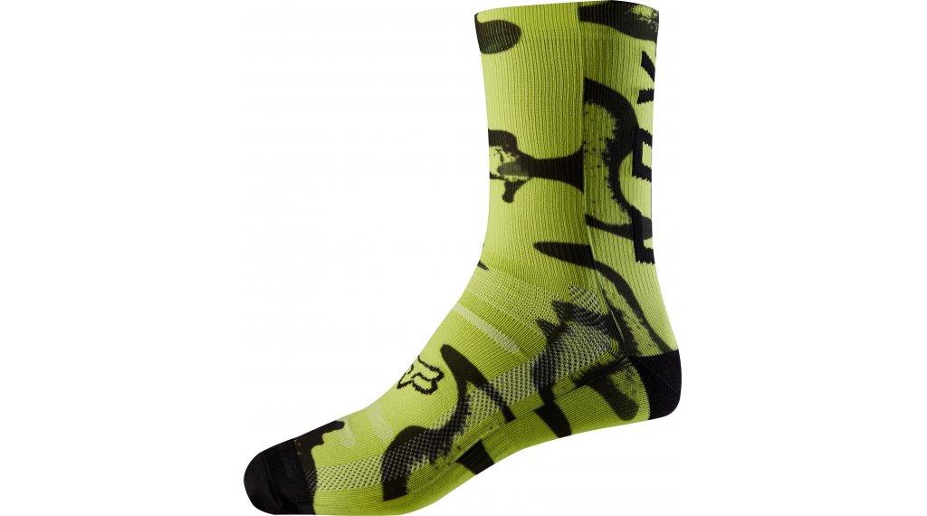 Fox Print calcetines 20cm tamaño L/XL amarillo/negro