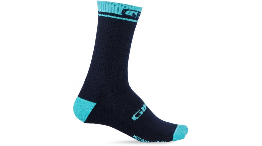 46281dd6f28 Giro Merino zima Wool High ponožky velikost S midnight glacier model 2019