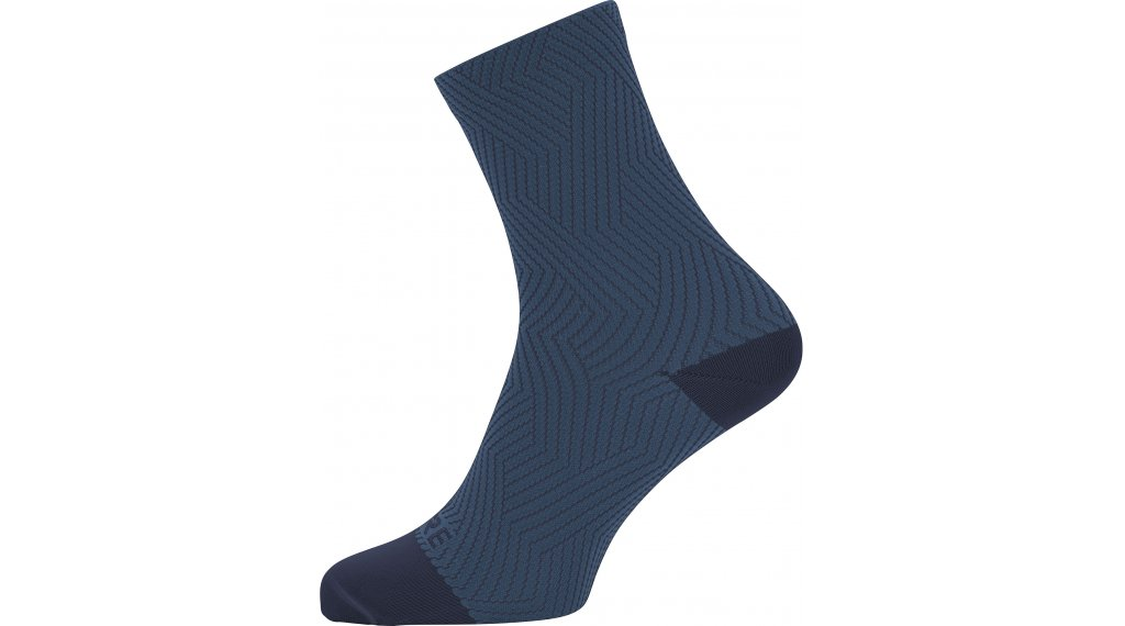 Gore C3 Optiline socks mid length size 35/37 orbit blue/deep water blue