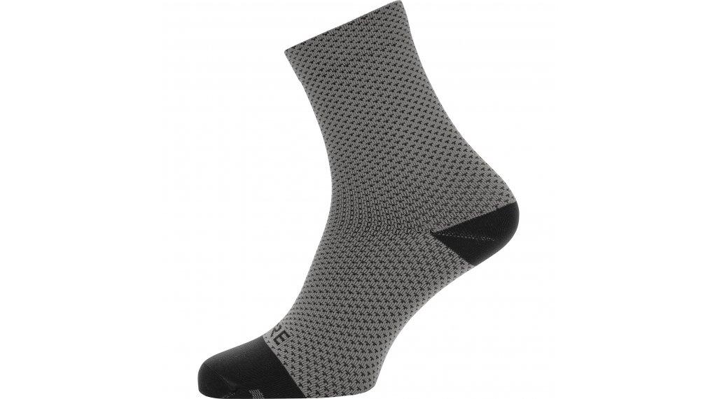 Gore C3 Dot ponožky středně dlouhý velikost 35/37 graphite grey/black