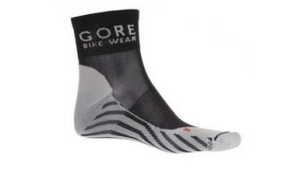 GORE Bike Wear Contest Socken Gr. 35-37 black/white
