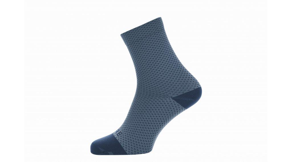 Gore C3 Dot ponožky středně dlouhý velikost 41/43 cloudy blue/deep water blue