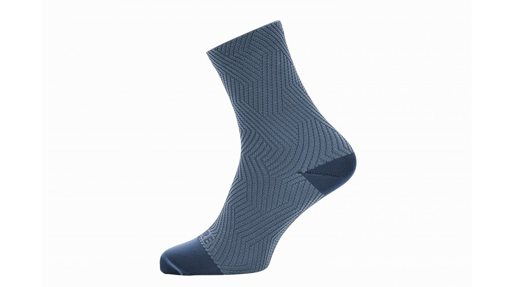 Gore C3 Optiline socks mid length size 35/37 deep water blue/cloudy blue