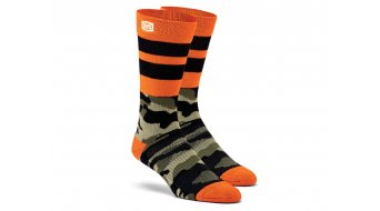 100% Troop Athletic socks size S/M camo black/green