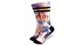 Loose Riders Catpocalypse ponožky univerzální velikost blue/multicolor