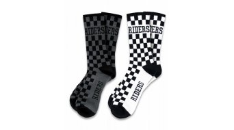Loose Riders 2-Pack Checkers Socken unisize