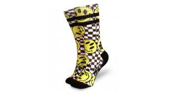 Loose Riders Stoked! Socken Gr. unisize black/yellow