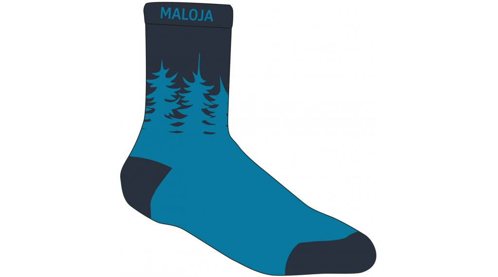 Maloja LabanM. socks size 43/46 mountain lake
