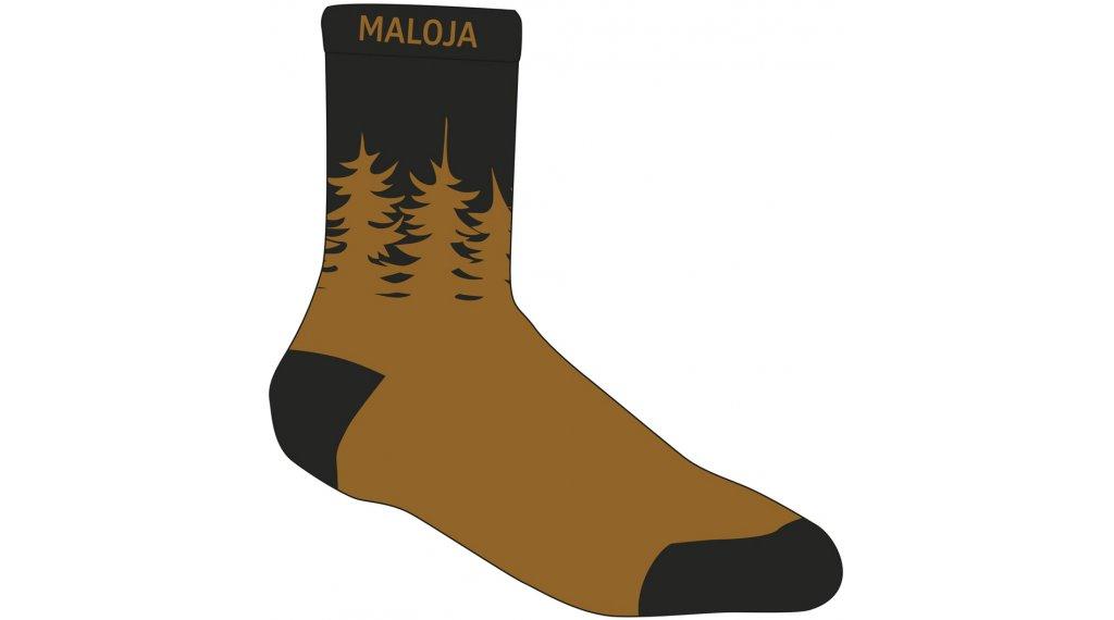 Maloja LabanM. socks size 39/42 moonless