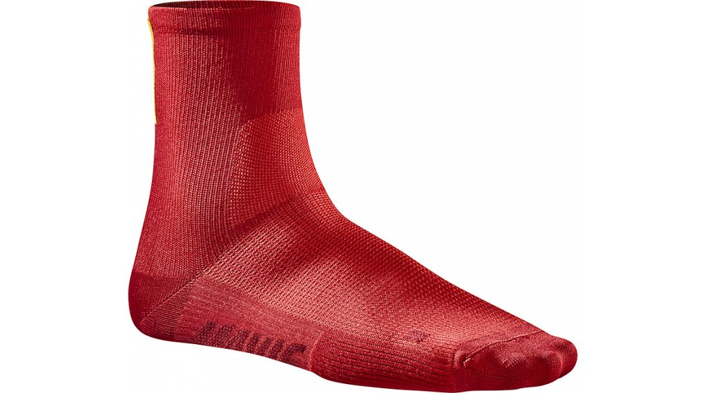Mavic Essential Mid Socken Gr. S (35/38) haute red