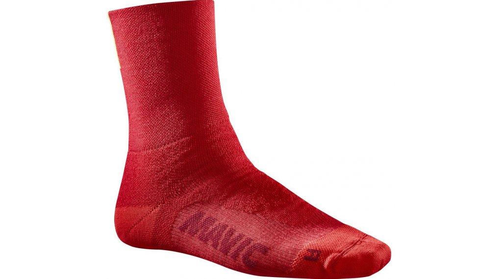 Mavic Essential Thermo 骑行袜 型号 S (35/38) haute red