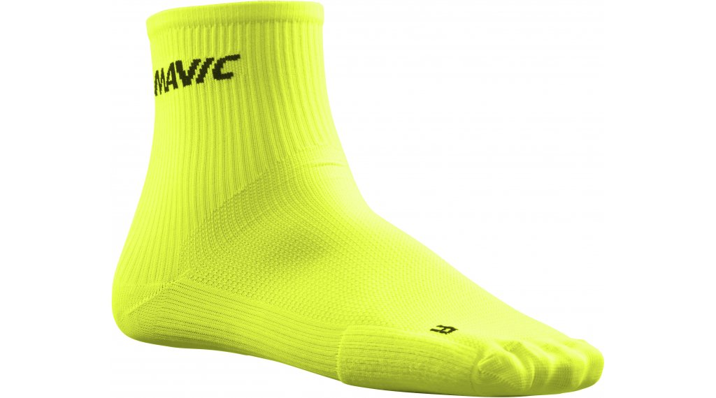Mavic Cosmic Mid Socken Gr. 35/38 (S) safety yellow