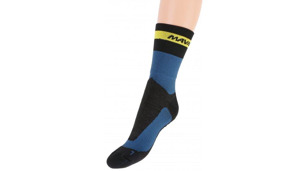 Mavic Ksyrium Pro Thermo+ Socken Gr. 35/38 (S) majolica blue/black