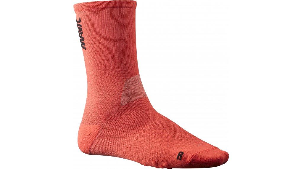 Mavic Comete socks size M (39/42) fiery red/black