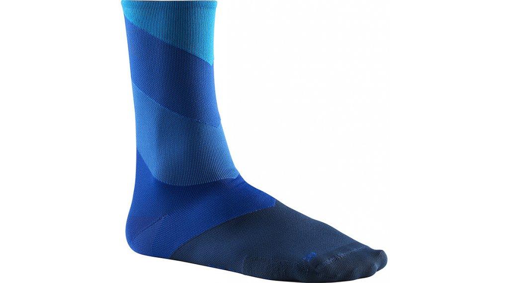 Mavic Graphic 条纹 骑行袜 型号 M (39/42) hawaiian ocean/lapis blue