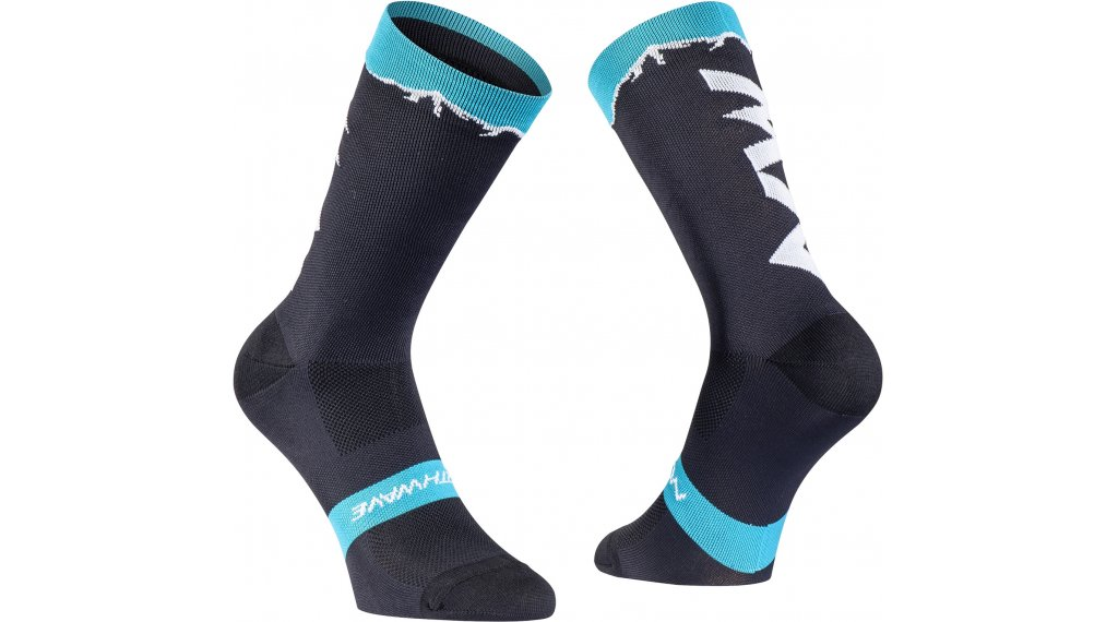 Northwave Clan Socken Gr. L black/azure