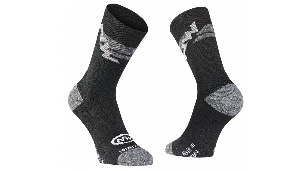 Northwave Extreme Air Sock White//Black//Red