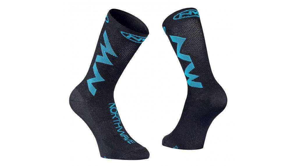 Northwave Extreme Air Socken Gr. L black/sky blue