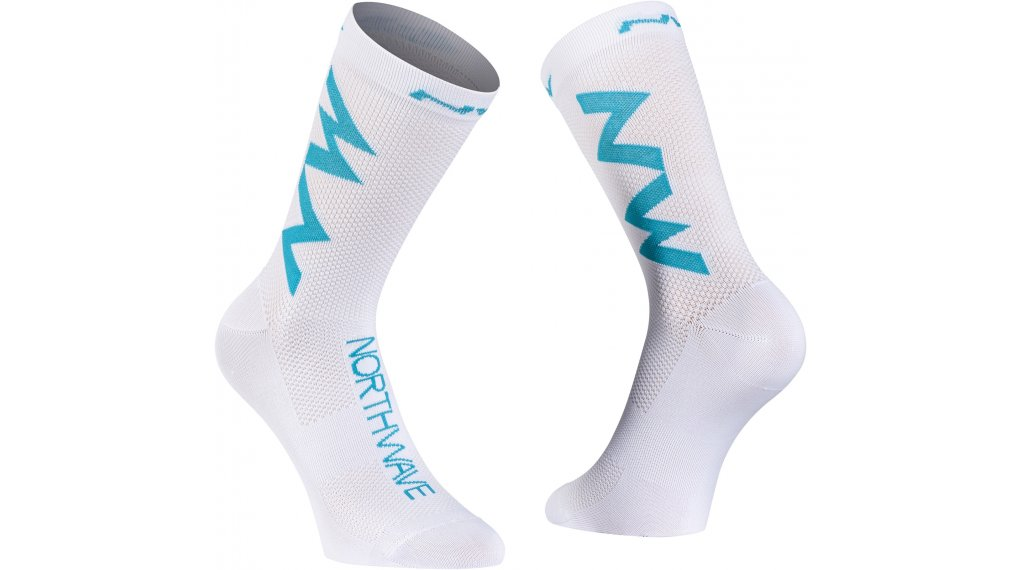 Northwave Extreme Air Socken Gr. L white/blue