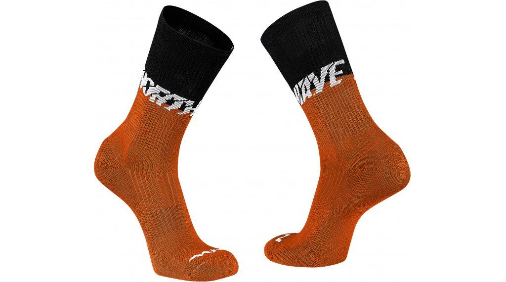 Northwave Edge Socken Gr. XS black/siena orange