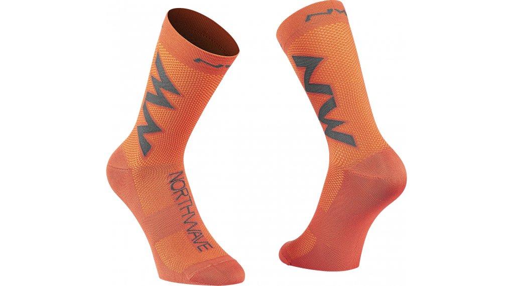Northwave Extreme Air calcetines tamaño XS siena naranja