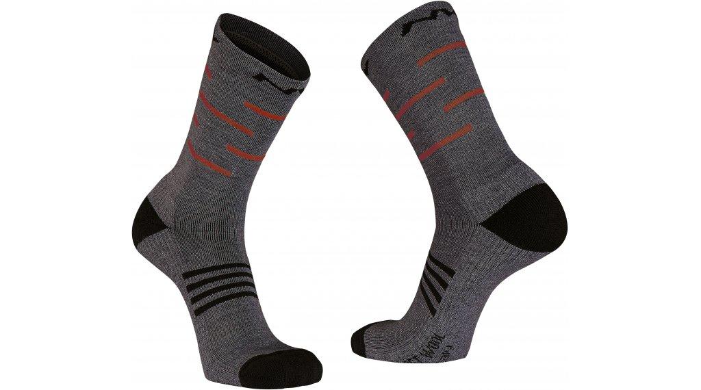 Northwave Extreme Pro High Socken Gr. XS dark grey/red