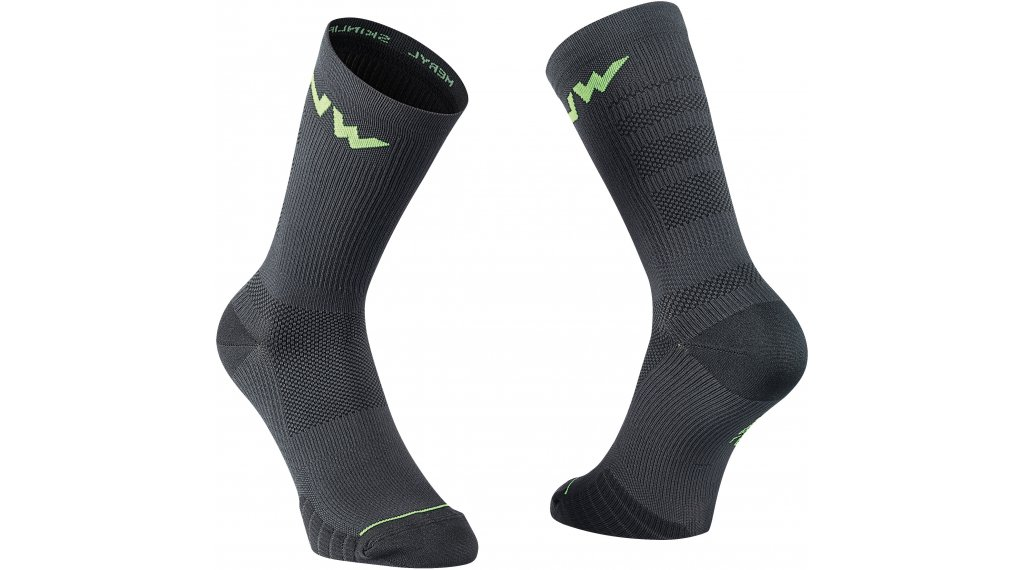 Northwave Extreme Pro calcetines tamaño XS negro/lime fluo