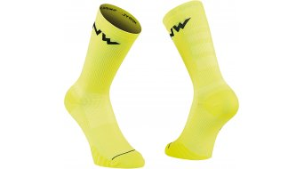 Northwave Extreme Pro Socken Gr. XS yellow fluo/black