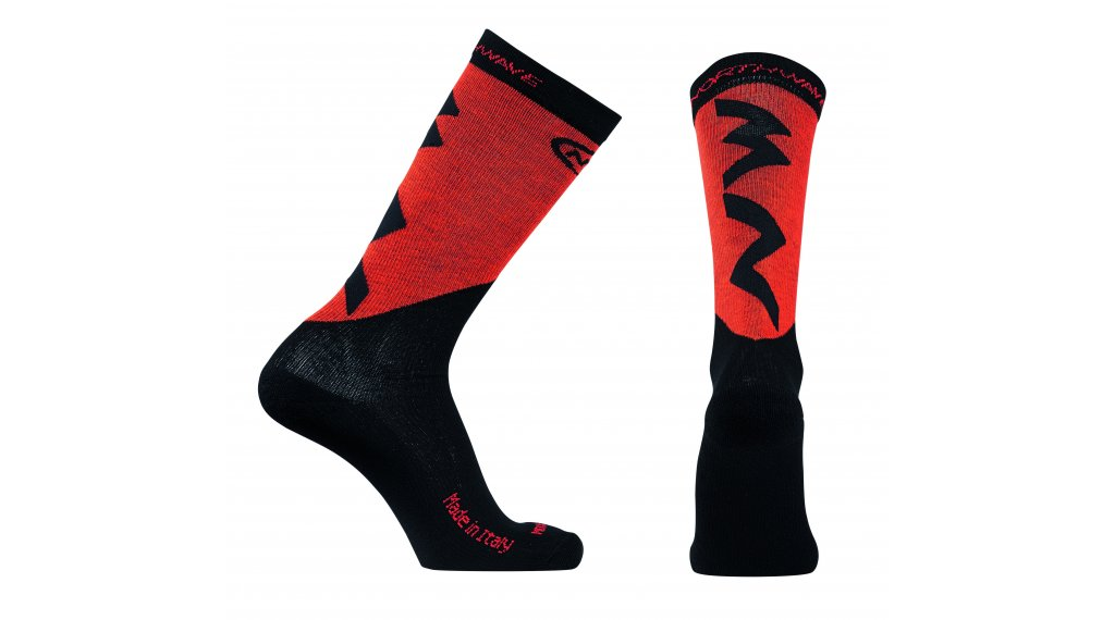 Northwave Extreme Pro High calzini mis. M rosso/nero