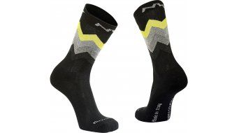Northwave Core High sokken black/yellow fluo