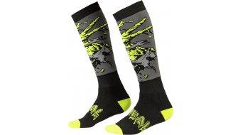 ONeal Pro MX Zombie Socken Gr. unisize black/green