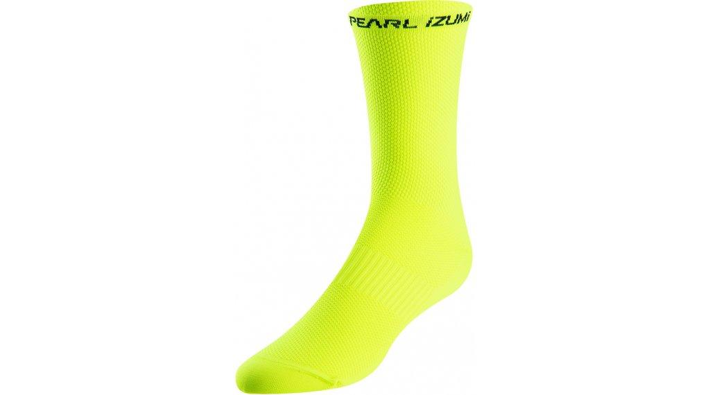 Pearl Izumi Elite Tall 骑行袜 型号 L screaming yellow
