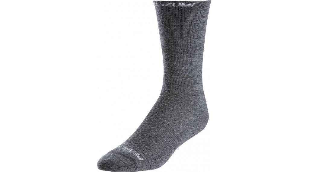 Pearl Izumi Elite Thermal Wool socks size S shadow grey