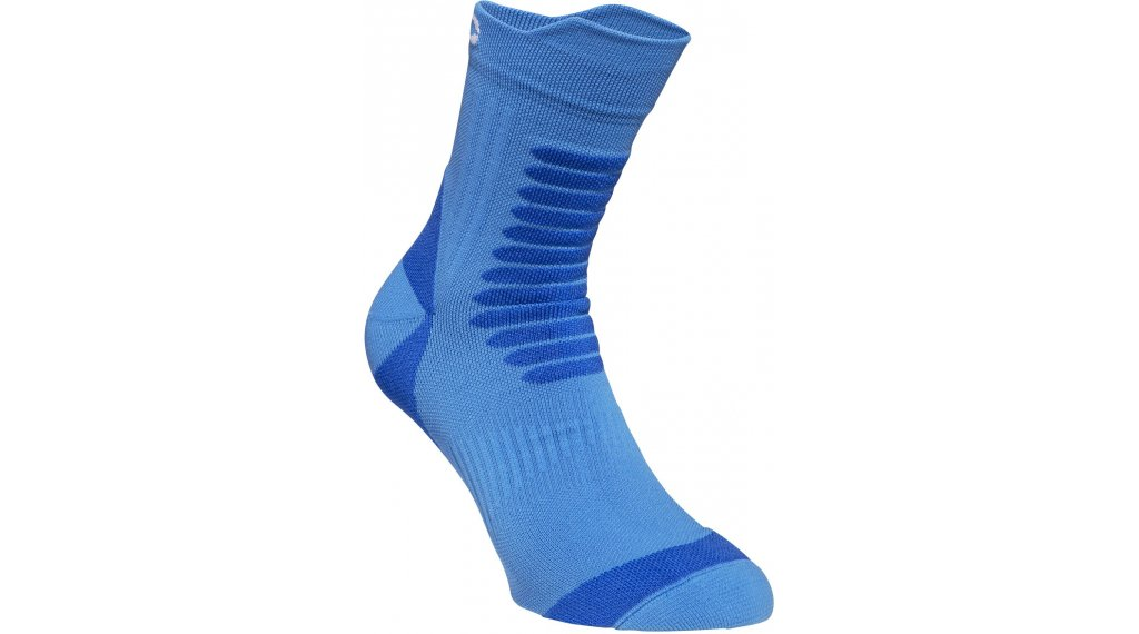 POC Essential MTB Strong Socken Gr. S (37/38) stibium multi blue