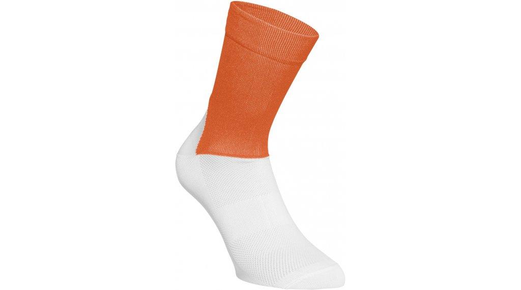 POC Essential Road Socken Gr. S (37/38) zink orange/hydrogen white