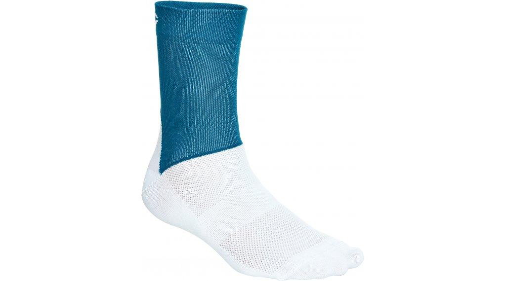 POC Essential Road Socken Gr. S (37/38) draconis blue/hydrogen white