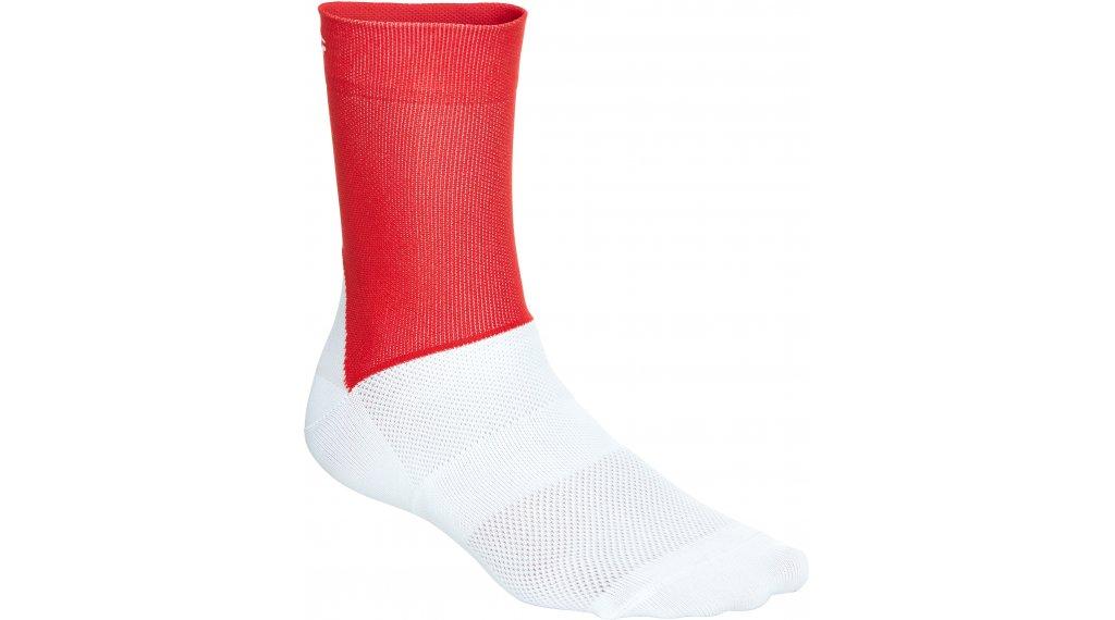 POC Essential Road Socken Gr. S (37/38) prismane red/hydrogen white