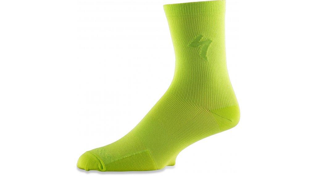 Specialized Soft Air Tall Socken Gr. L hyper green