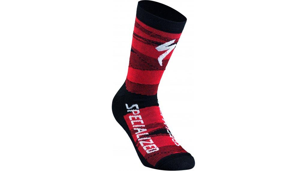 Specialized SL Team Expert calcetines tamaño XL negro/rojo