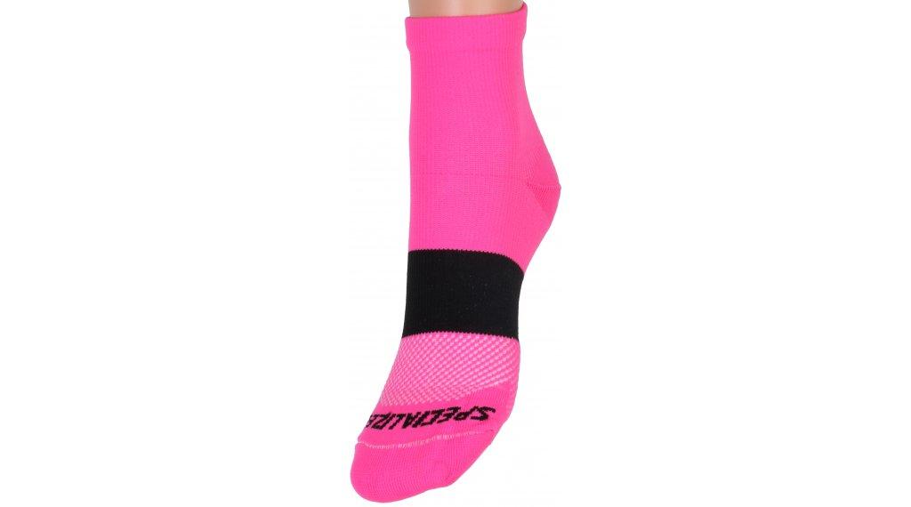 Specialized SL Mid Socken Damen Gr. M/L neon pink/black